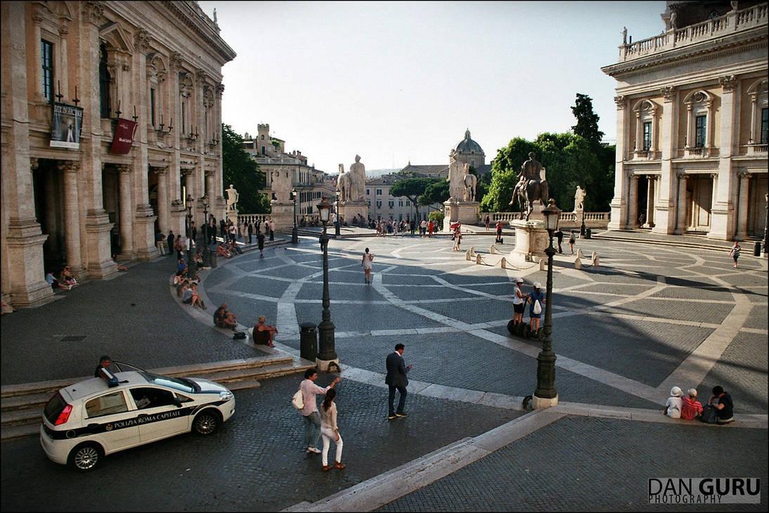Piazza del Campidoglio by RoqqR