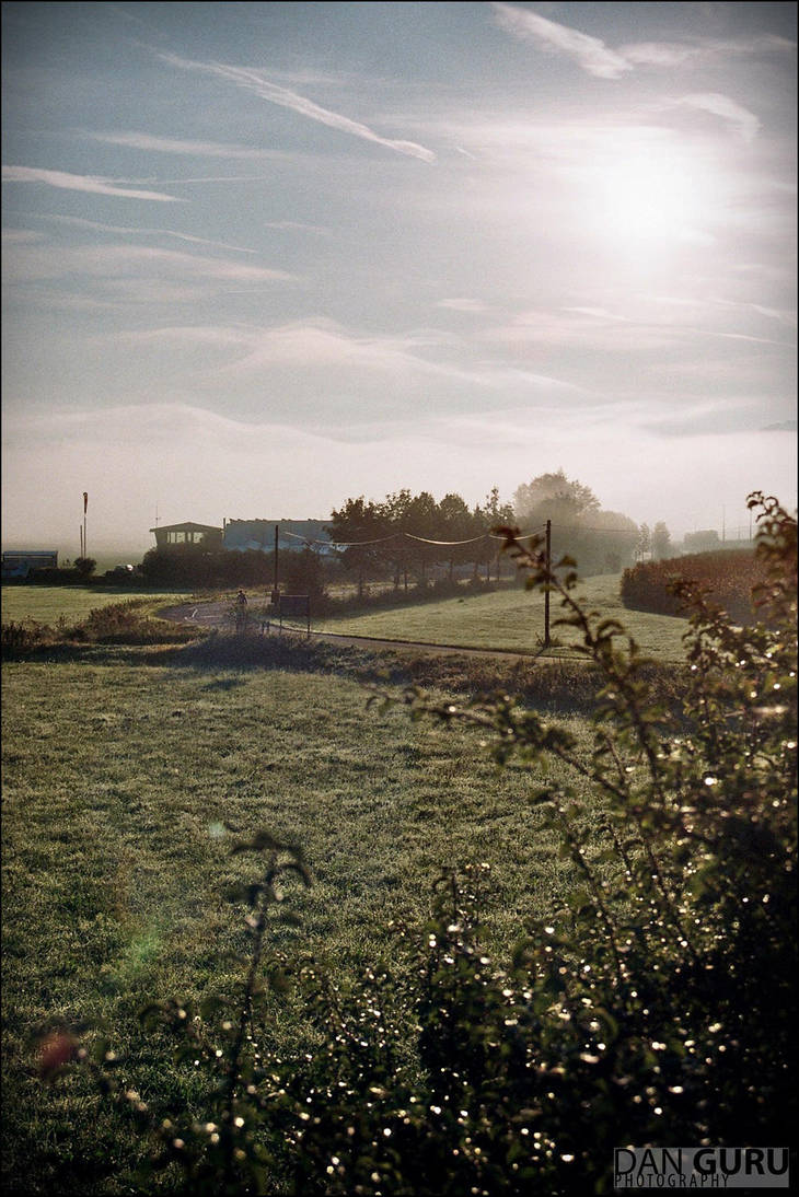 Through Fog - Looking Back by RoqqR