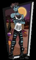 Monster High Oc - Spider Trappmaskinen by teddy-beard