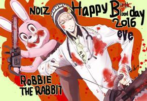Noiz Birthday eve 2016 by chienu