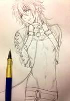 Rough Sketch Aoba by chienu