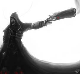 Reaper - Overwatch by TehSasquatch
