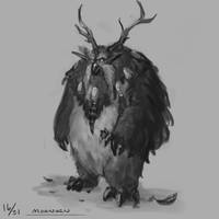 Daily Sketch 16 - Moonkin by TehSasquatch
