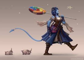 Jester - Critical Role by TehSasquatch
