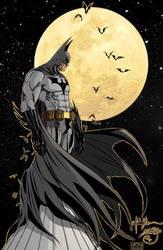 DAILY ART POST - BATMAN DAY (week) DAY 1 - BATMAN by HooliganAlley