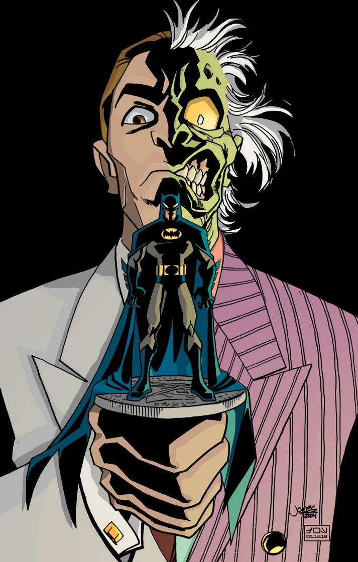 1-Two-Face (Jeff Matsuda) by HooliganAlley