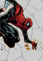 DAILY ART POST - SUPERIOR SPIDER-MAN by HooliganAlley