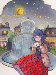Ladybug In Waiting by Coelacanth-TS