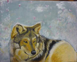 Winter Wolf by MistressCurlyLocks