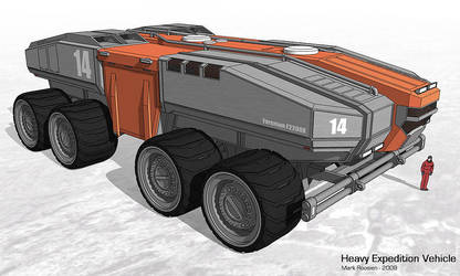 Heavy Expedition Vehicle by Marrekie