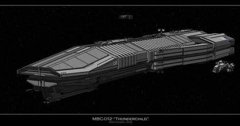 MBC-012 Thunderchild by Marrekie