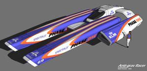 Anti-grav Racer by Marrekie
