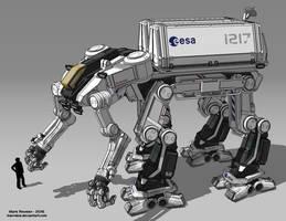 Space Exploration Mech by Marrekie