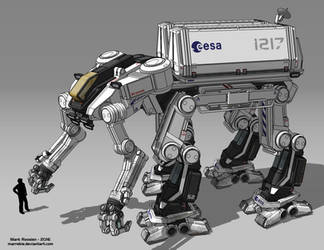 Space Exploration Mech by Marrekie