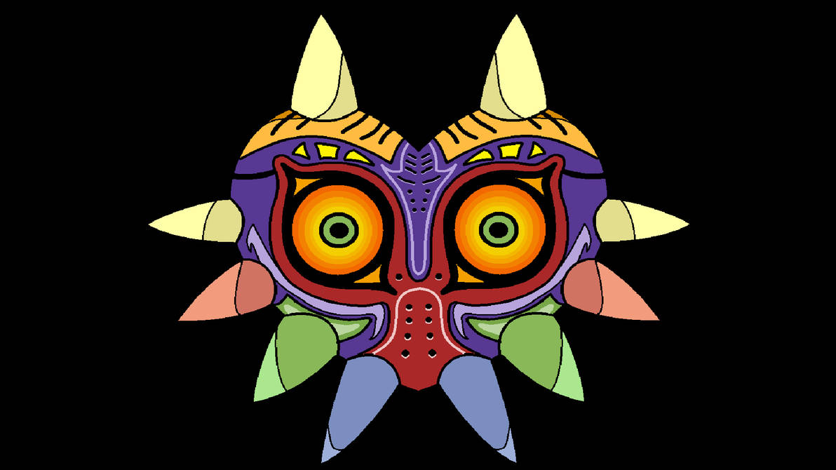 Majoras Mask Wallpaper By Thefish95 On Deviantart