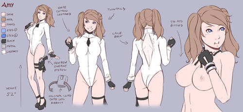 Concept Art - Amy update by Teh-Dave