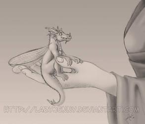 Shin the pixie dragon by LazyJenny