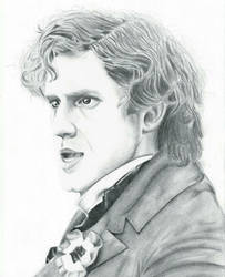 Aaron Tveit as Enjolras by Lia-Kami