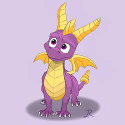 Spyro the Dragon by Lia-Kami