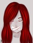 Endure Silently by xKiaraAngelx