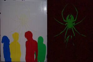 My Chemical Romance: Danger Days duct tape art by TheDucttapeBassist