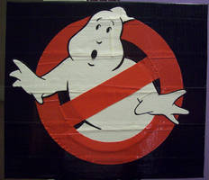 Ghost Busters duct tape logo by TheDucttapeBassist