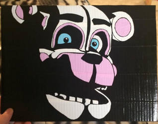 FNAF Sisterlocation Funtime Freddy (duct tape) by TheDucttapeBassist