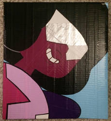 Garnet (duct tape) by TheDucttapeBassist