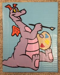 Figment (duct tape) by TheDucttapeBassist