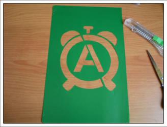 anarchist-alarm stencil by Fajeth