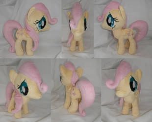 Filly Fluttershy Plushie II [FOR SALE] by Uminohoshi