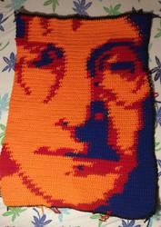 John Lennon blanket by Uminohoshi
