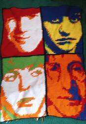 Beatles Blanket by Uminohoshi