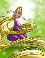 Tangled - Rapunzel by RayOcampo