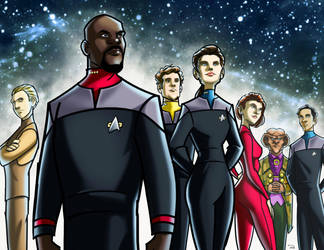 Star Trek: Deep Space Nine by RayOcampo