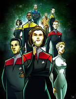 Star Trek: Voyager by RayOcampo