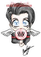 Andy Biersack Tattoo Design by Ebsie