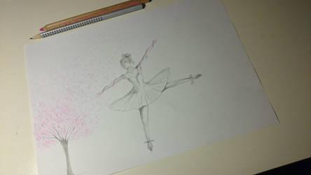 -My evening drawing- by Kikinna