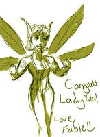 Congrats to Lady Yates by fablehill