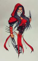 Sadira: mistress of the web by derricklluchgarces