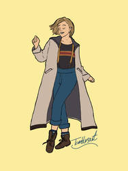 The 13th Doctor by Wickednlazy