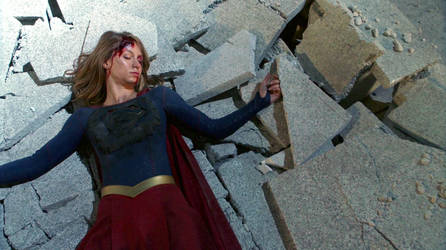 Supergirl : Defeated by Fater77