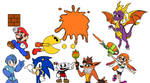 Random Game Characters sketch by martinsaenz1996