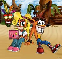 Crash Bandicoot's N. Sane Vacation by martinsaenz1996