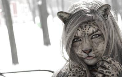 Snow Leopard by OdysseusUT
