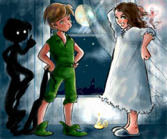 Peter and Wendy by seshiria