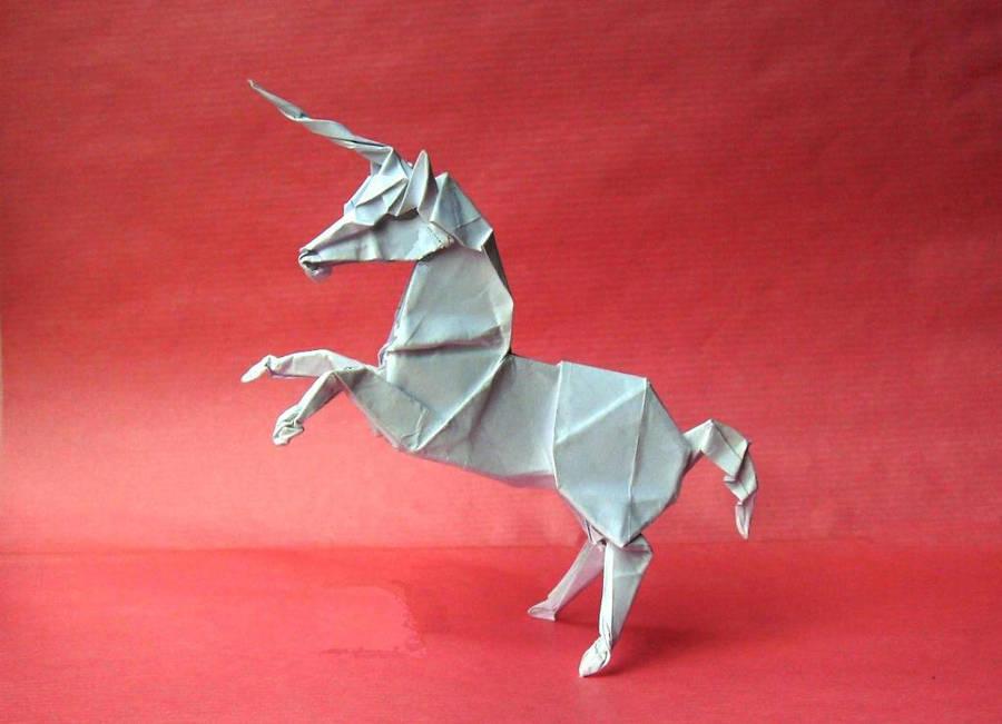 Origami Unicorn 3