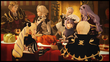 |SFM|FE:Fates| A Nohrian Thanksgiving Meal by UniversalKun