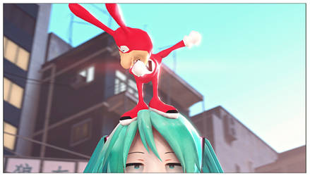 |SFM|Vocaloid| Yo! Its The Noid by UniversalKun