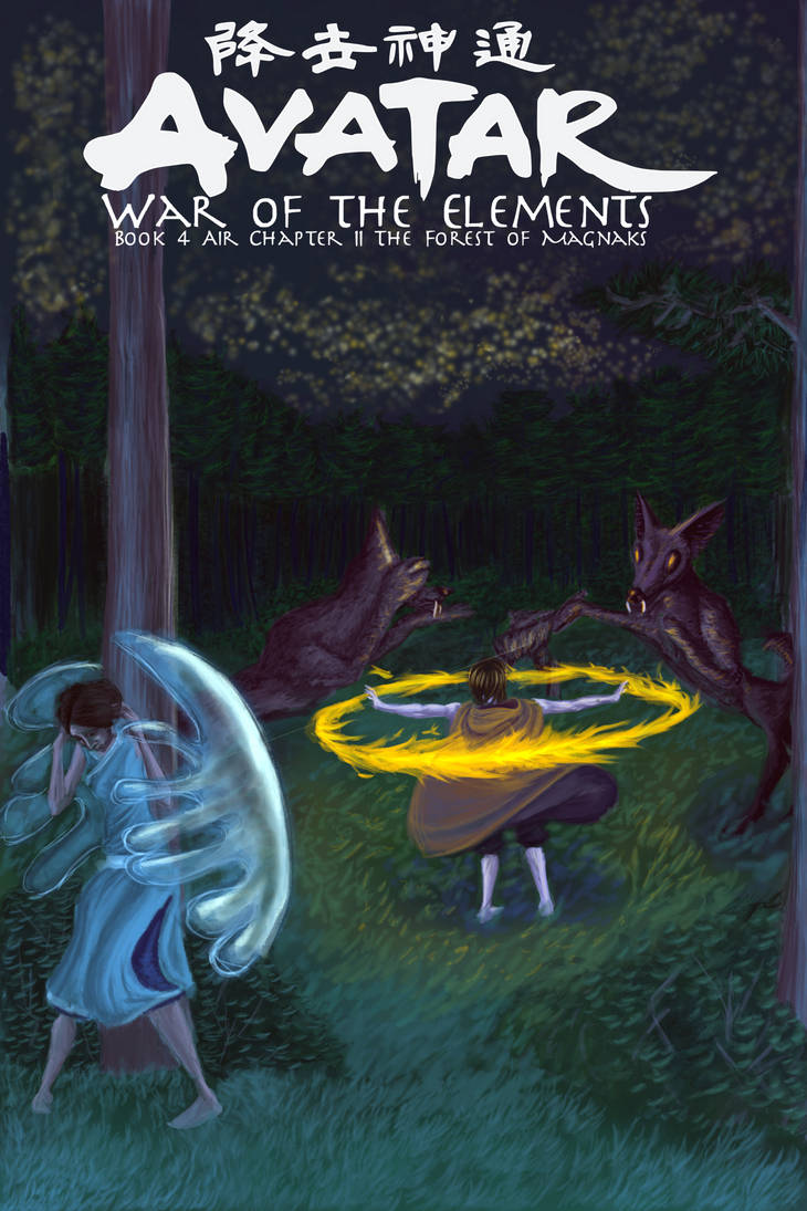 WotE B4 Ch2 The Forest of Magnaks - Cover by wcqaguxa